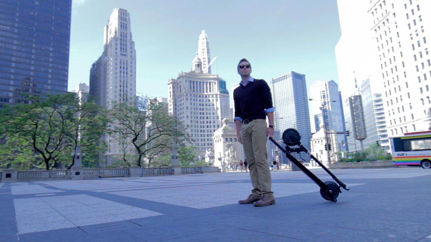 Foldable Glion Dolly Scooter