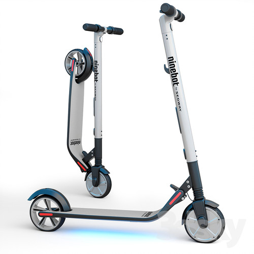 ninebot segway ES4 lights