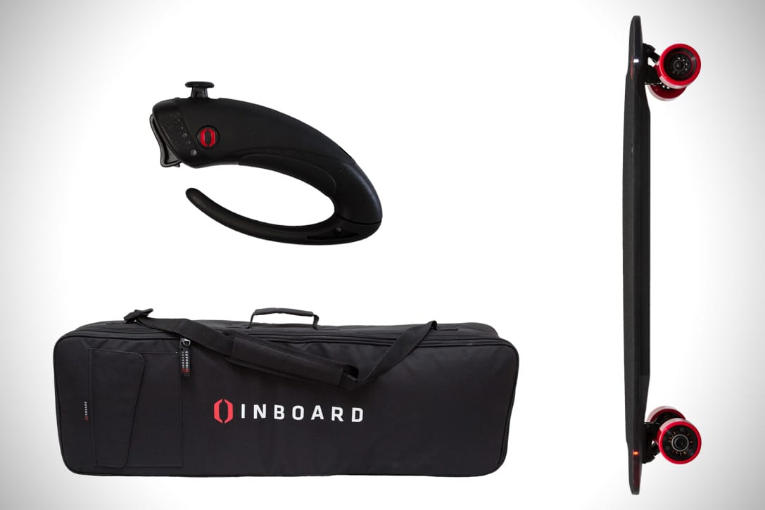 Inboard M1 remote controller and bag