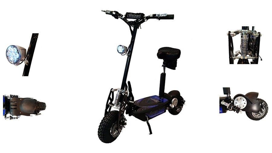 Super 36v Turbo 1000-Elite Electric Scooter Review 2020