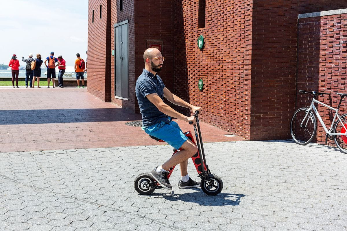 URB-E Foldable Electric Scooter Review 2020