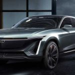 New cadillac electric vehicle