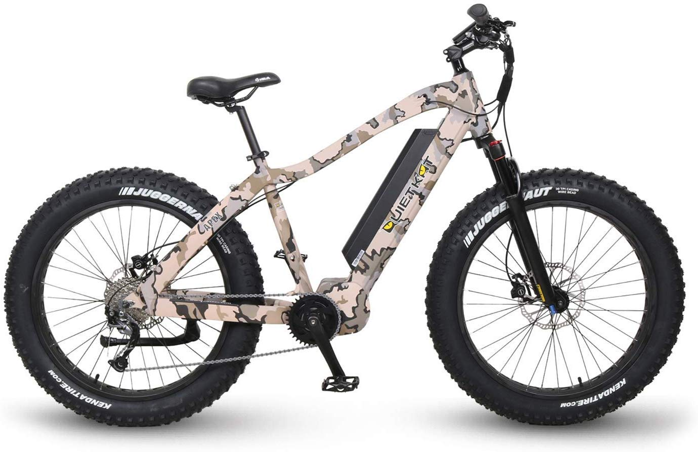 QuietKat Fastest Electric Bikes Camo
