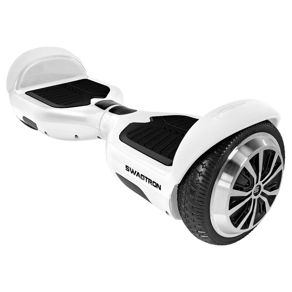 Swagtron Swagboard Pro T1 Hoverboard White