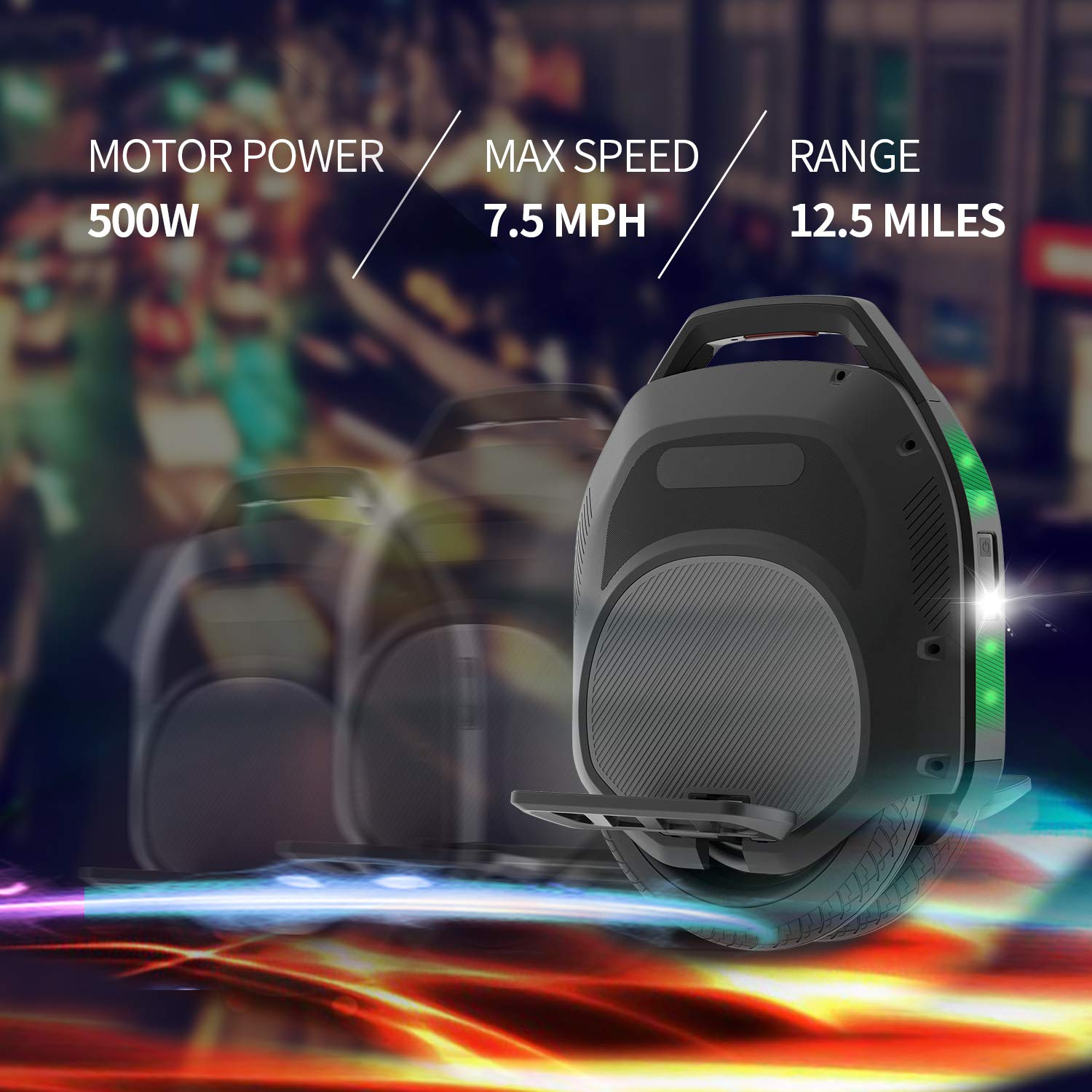 Hoverclub Solo review 2021 cheap electric unicycle