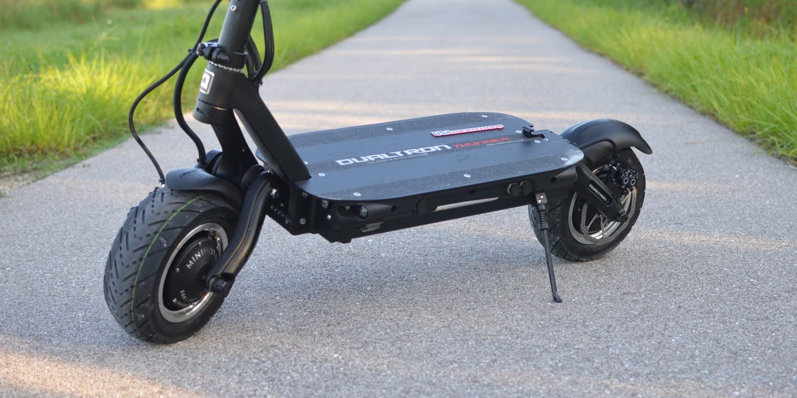 dualtron thunder fastest electric scooter review 2021