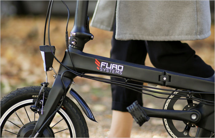 commuting folding electric bike