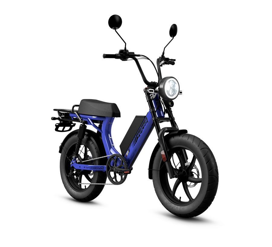 hyperscorpion moped ebike review