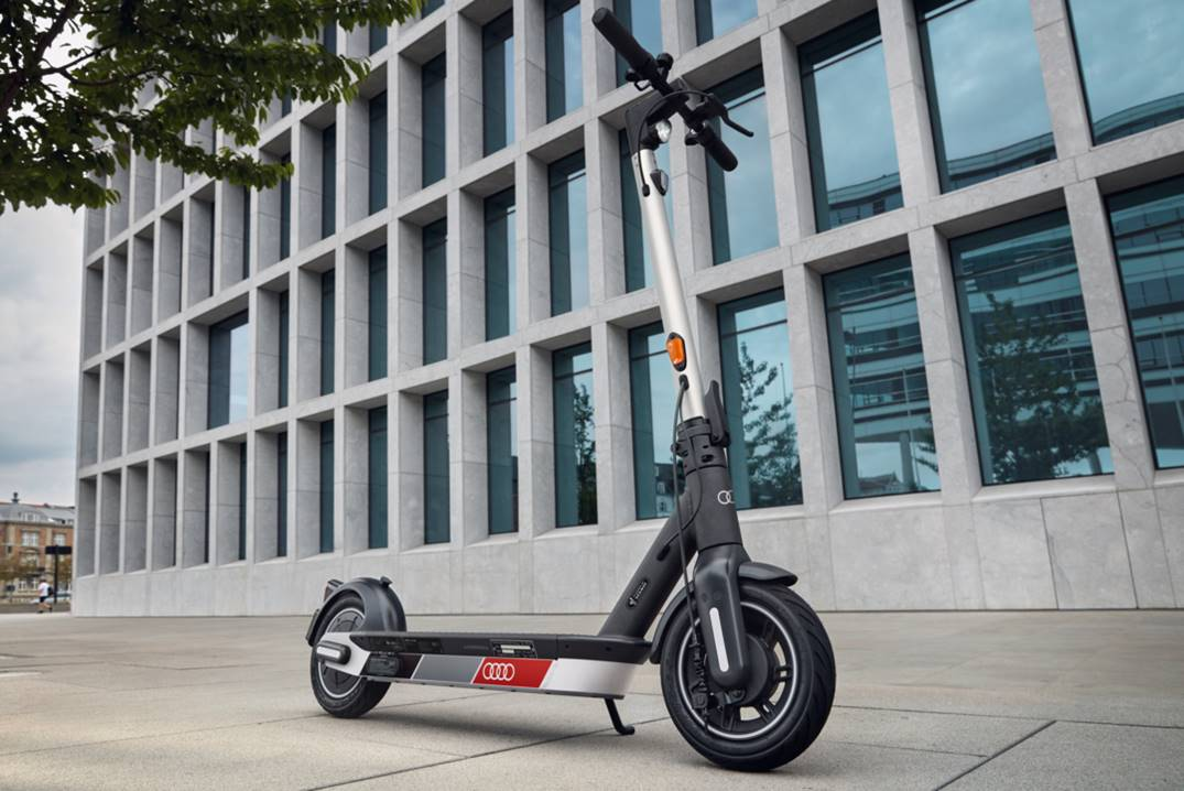 New audi electric scooter