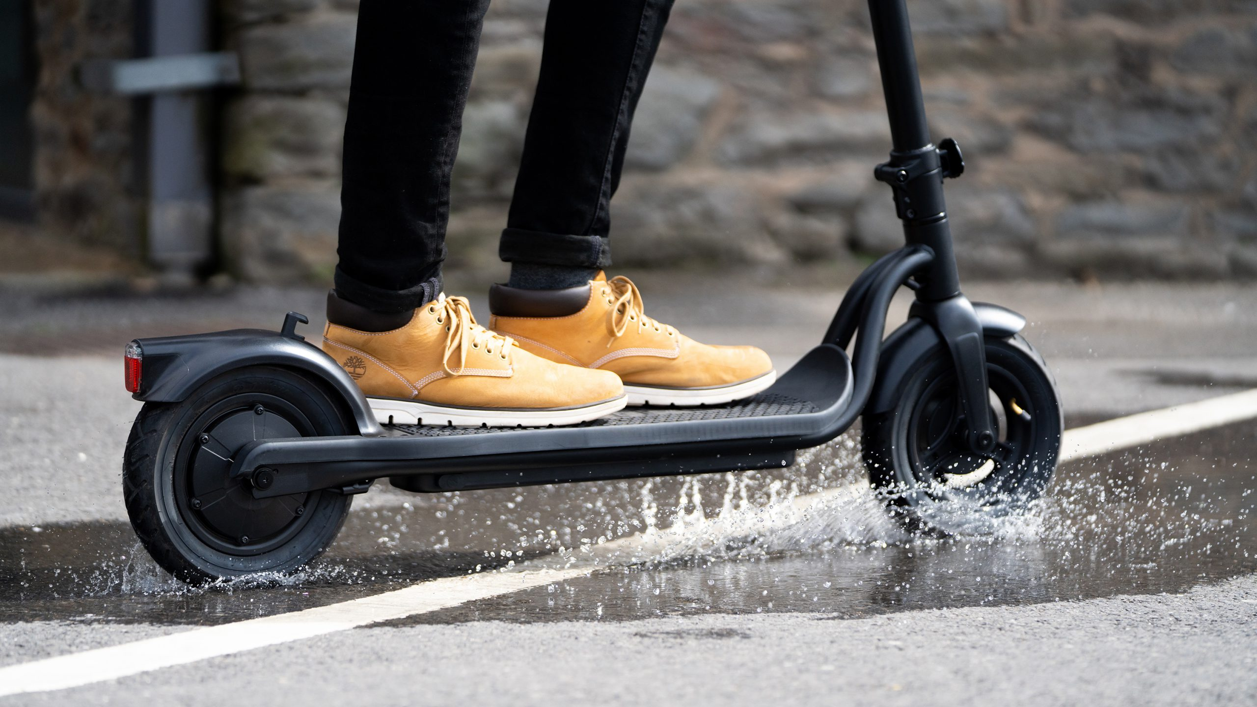 Electric scooter waterproofing