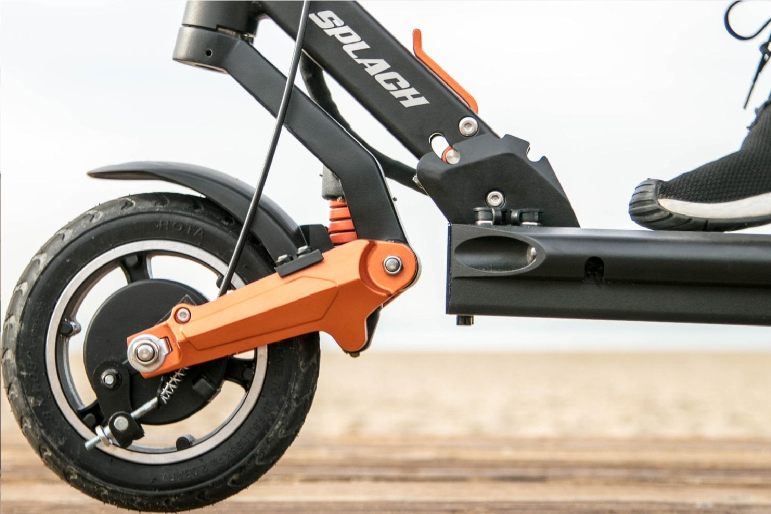 Offroad eScooter suspension