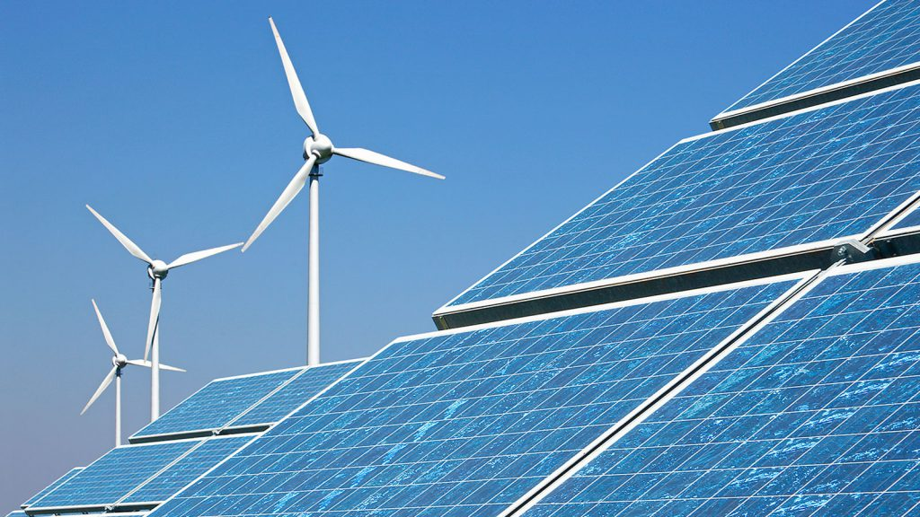 renewable wind and solar energy generation in Canada