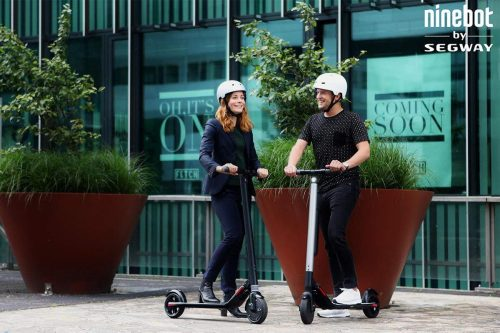 Ninebot Segway Es1 And Es3 Electric Scooter Review 2019
